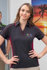 Women's Performance Polyester Pique Polo Shirt Main Image