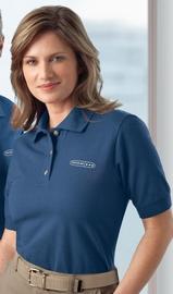 Women's Pique Polo Shirt Main Image