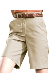 Women's Plain Front Chino Short Main Image