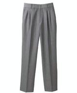 Women's Pleated Poly / Wool Pant Main Image