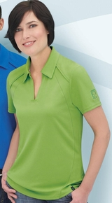 Women's Recycled Polyester Performance Pique Polo Main Image