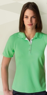 Women's Recycled Polyester Performance Waffle Polo Shirt Main Image
