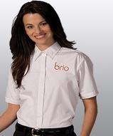 Women's Short Sleeve Cafe Shirt Main Image