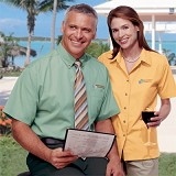 Women's Short Sleeve Easy Care Poplin Shirt Main Image