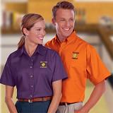 Women's Short Sleeve Teflon Treated Twill Shirt Main Image