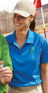 Women's Snag Protection Color-block Polo With Piping Main Image