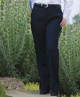 Women's Solid Flat Front Suit Pant Main Image