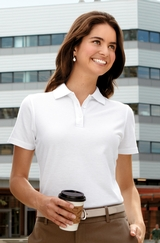 Women's Stain-resistant Polo Shirt Main Image