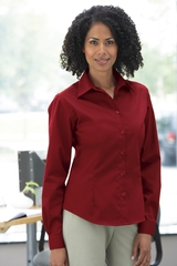 Women's Teflon Treated Long Sleeve Shirt Main Image
