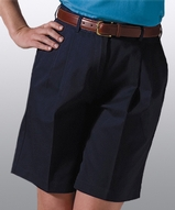 Women's Utility Pleated Chino Short Main Image