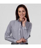 Women's Van Heusen Long Sleeve Blended Oxford Shirt Main Image