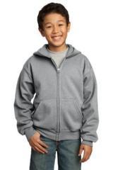 Youth Full-zip Hooded Sweatshirt Main Image