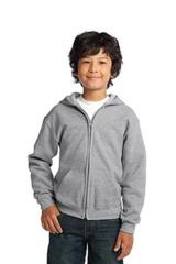 Youth Heavy Blend Full-zip Hooded Sweatshirt Main Image