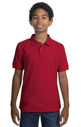 Youth Silk Touch Polo Shirt Main Image