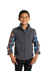 Youth Value Fleece Vest Main Image
