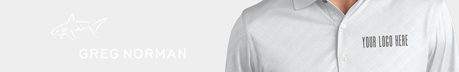 Greg Norman Embroidered Golf Shirts