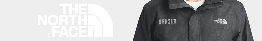 Customize The North Face jackets and outwear with brand logos.