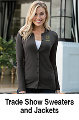 Embroidered Trade Show Sweater
